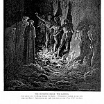 Gustave Dore - The Seventh Circle The Lustful