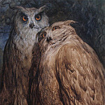 Gustave Dore - Two Owls