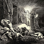 Gustave Dore - To the gate he came and with his wand touch-d it whereat open without impediment it flew