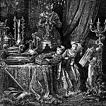 Gustave Dore - Her Friends Were Eager To See The Splendors Of Her House