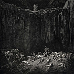 Gustave Dore - So my look went to a distance where the infallible justice of the minister of Go