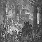 Gustave Dore - High on a throne of a royal state which far Outshone the wealth of Ormus and of Ind
