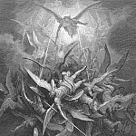 Gustave Dore - Him The Almighty Power Hurled Headlong Flaming from the Eternal Sky