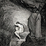 Gustave Dore - This is Myrrha-s old soul inexorable and pitilessos who had loved her father in