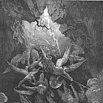 Gustave Dore - Hell at last Yawning received them whole