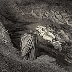 Gustave Dore - Love brought us to one death Caina waits the soul who spilt our life
