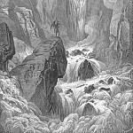 Gustave Dore - In with the river sunk and with it rose Satan