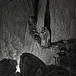 Gustave Dore - The master said -In this fire souls are burning and each soul is hardened by the fire-