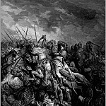 Gustave Dore - crusades richard and saladin at arsuf