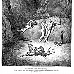 Gustave Dore - Transformation into Snakes