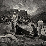 Gustave Dore - I could not hear what terms he offer-d them but they conferr-d not long