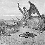 Gustave Dore - Him fast sleeping soon he found In labyrinth of many a round self rolled