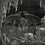 Gustave Dore - This is the place where you need all your courage