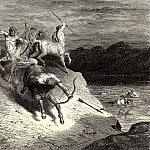 Gustave Dore - We got closer to these agile monsters