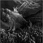 Gustave Dore - crusades george mt olives