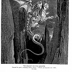 Gustave Dore - The Descent on The Monster
