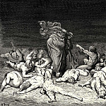 Gustave Dore - Thy city heap-d with envy to the brim held me in brighter days. Ye citizens were wont to name me Ciacco