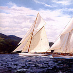 J Steven Dews - Kentra The Fife Regatta 1998