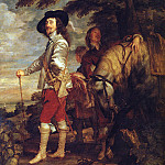 Anthony Van Dyck - CharlesI King of England at the Hunt