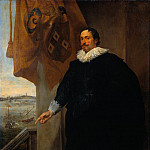 Anthony Van Dyck - Nicolaes van der Borght Merchant of Antwerp