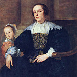 Anthony Van Dyck - The Wife and Daughter of Colyn de Nole