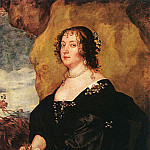 Anthony Van Dyck - Diana Cecil Countess of Oxford