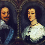 Anthony Van Dyck - CharlesI of England and Henrietta of France