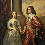 Anthony Van Dyck - William II Prince of Orange and Princess Henrietta Mary Stuart