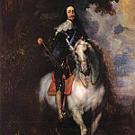 Anthony Van Dyck - Equestrian Portrait of CharlesI King of England