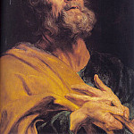 Anthony Van Dyck - The Penitent Apostle Peter