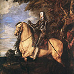 Anthony Van Dyck - CharlesI on Horseback
