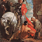 Anthony Van Dyck - St Martin Dividing his Cloak