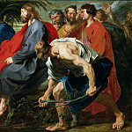 Anthony Van Dyck - Entry of Christ into Jerusalem