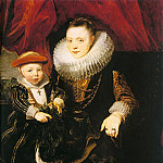 Anthony Van Dyck - Young Woman with a Child