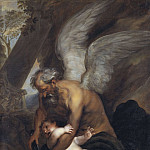 Anthony Van Dyck - Time Clipping the Wings of Love [After]