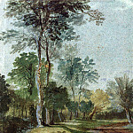 Avenue in the country , Anthony Van Dyck