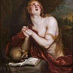 Anthony Van Dyck - The Penitent Magdalen