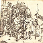 Durer Engravings - Five mercenaries and Turks on horseback