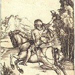 Durer Engravings - The Messenger (Small messenger)