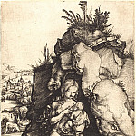 Durer Engravings - The Penance of Saint John Chrysostom