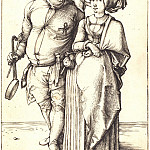 Cook and his wife, Durer Engravings