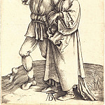 Durer Engravings - The farmer and his wife (Rural pair)