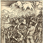 Durer Engravings - The Martyrdom of Saint Catherine