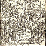 Durer Engravings - Martyrdom of ten thousand Christians