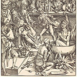 Durer Engravings - Martyrdom of St. John the Divine