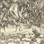 Durer Engravings - Saint Michael fighting the Dragon