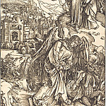 Durer Engravings - New Jerusalem and the angel with the key of the Underworld