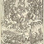 Durer Engravings - St. John before God and the twenty-four elders