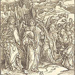 Durer Engravings - Branding righteous (four angels holding the winds)