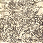 Durer Engravings - Battle of Angels (The Four Avenging Angels)